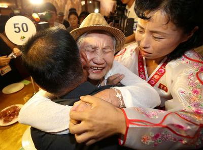 Korean families separated by war meet after 65 years