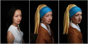 Becoming the 'Girl with a Pearl Earring'