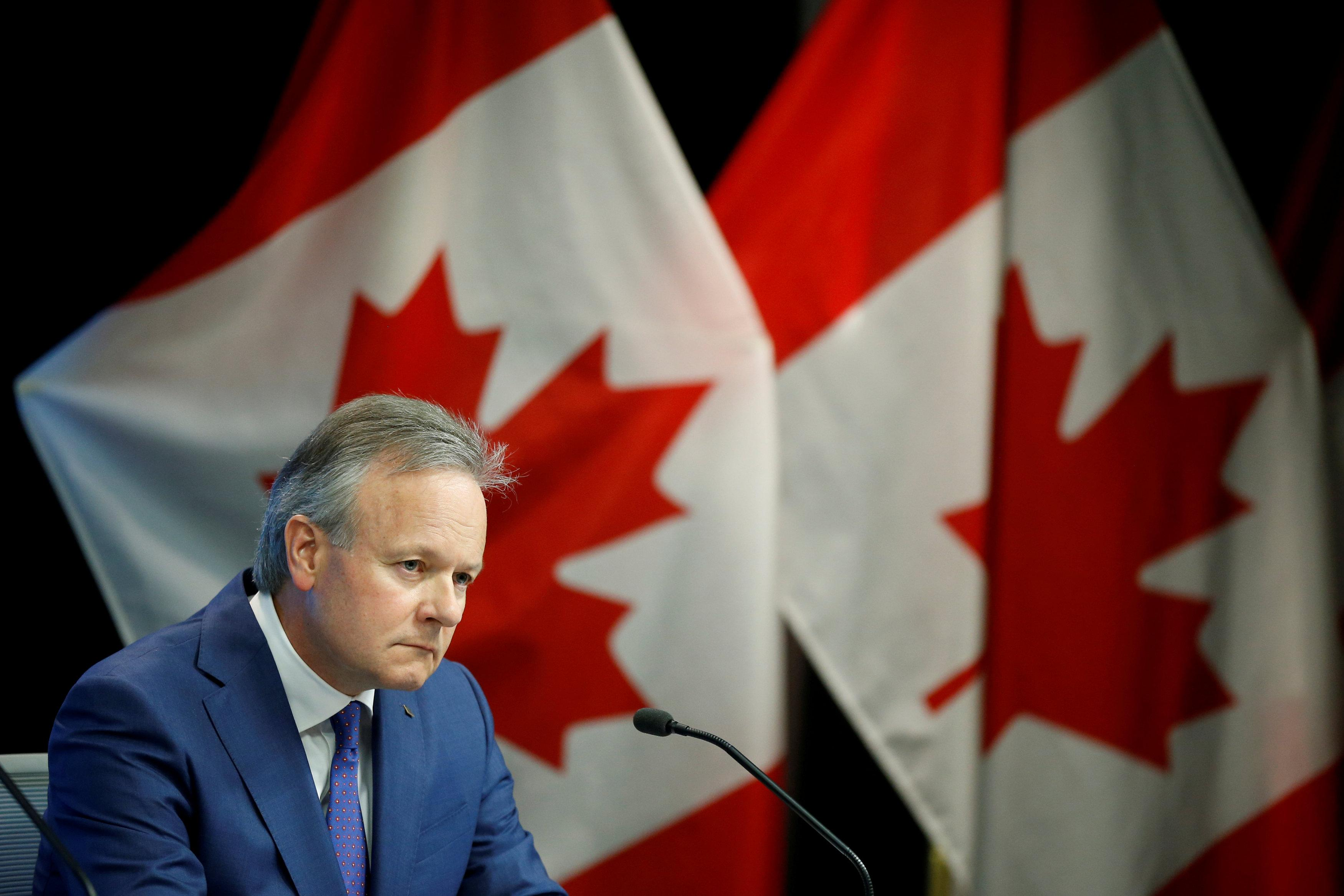 Bank of Canada Governor Stephen Poloz listens to a question during a news conference in Ottawa, Ontario, Canada, July 11, 2018. Chris Wattie