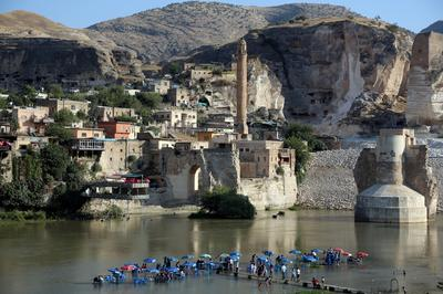 Ancient Turkish town imperiled by future dam