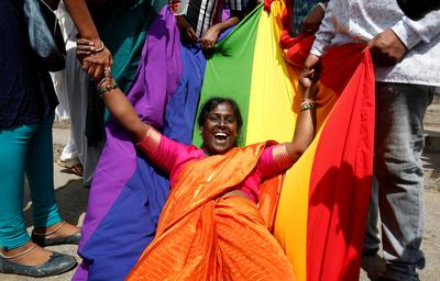India legalises gay sex