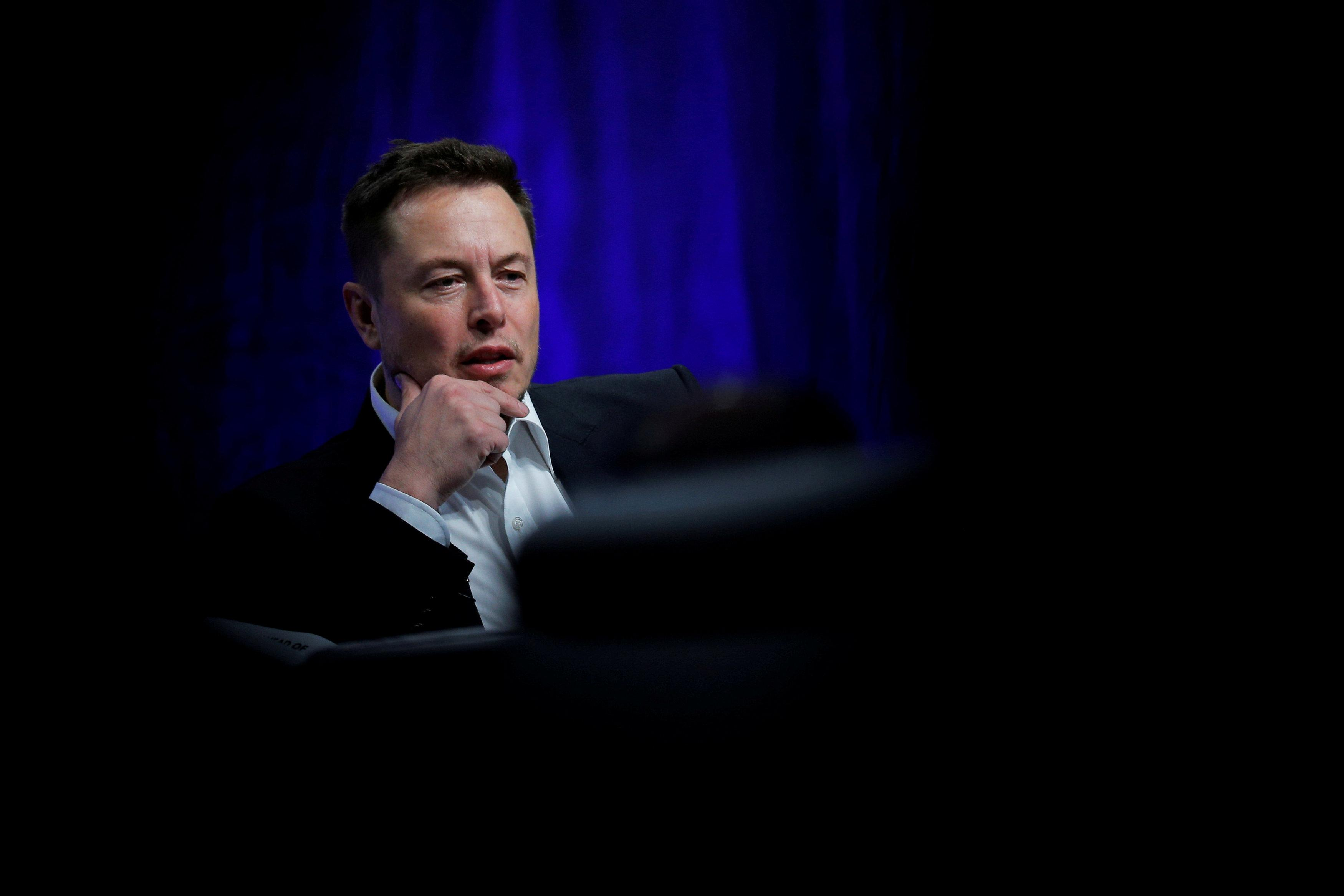Tesla Motors CEO Elon Musk speaks during the National Governors Association Summer Meeting in Providence, Rhode Island, U.S., July 15, 2017.  Brian Snyder