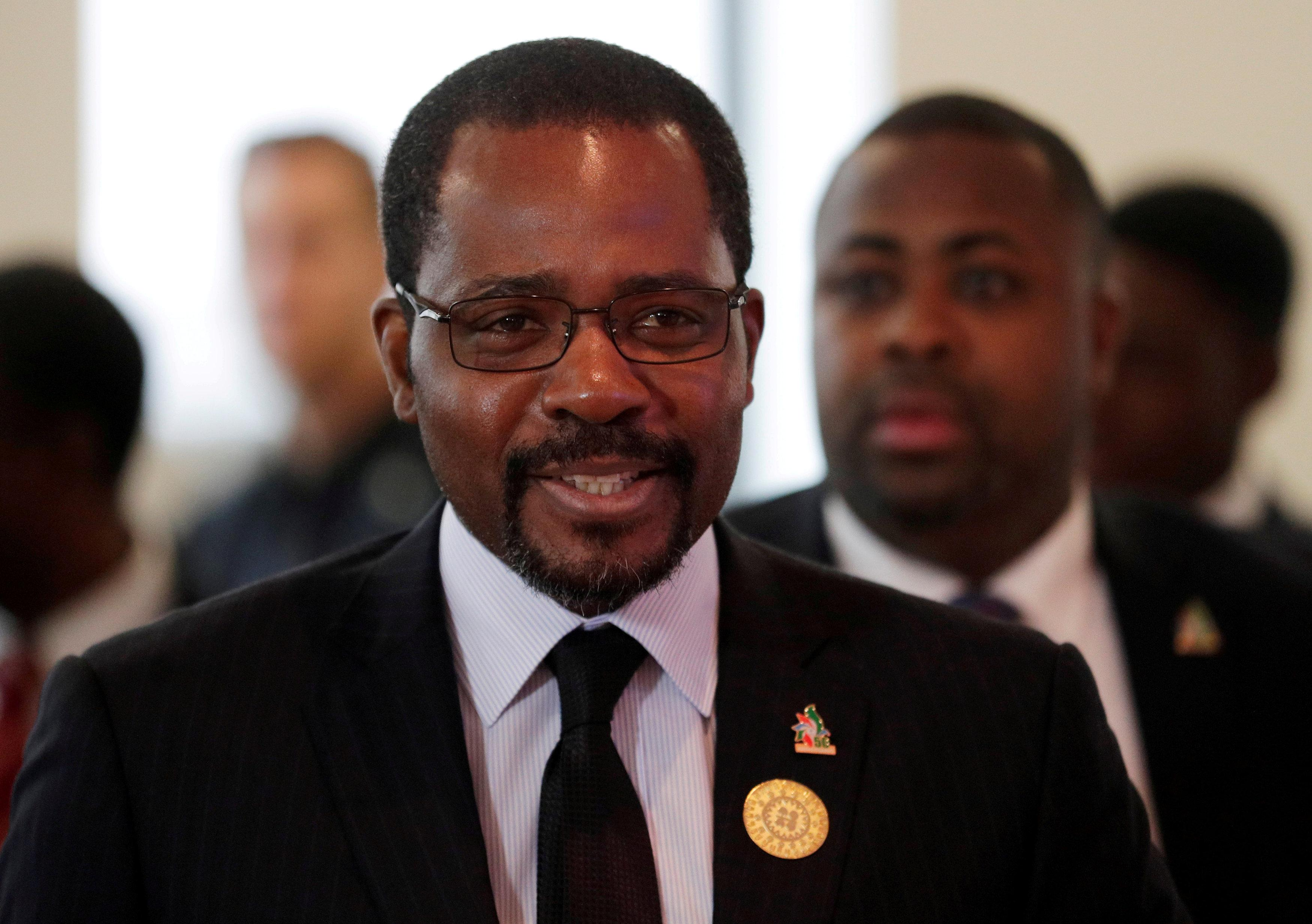 Equatorial Guinea's Oil Minister Gabriel Mbaga Obiang, June 22, 2018. Heinz-Peter Bader