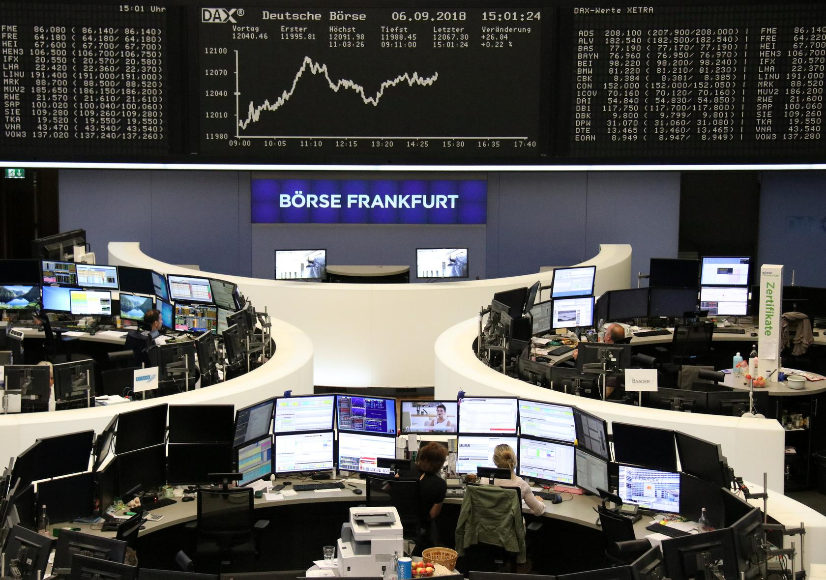 Image result for European share bounce stalls in trade dispute void