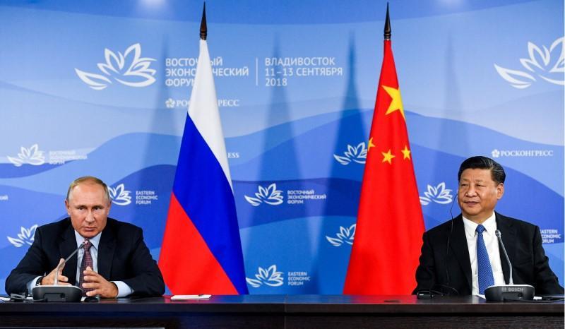 China fordert Russland zu gemeinsamen Kampf gegen Protektionismus auf