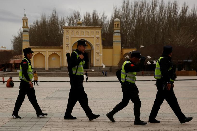 U S  voices concern on China's Muslim crackdown, sanctions