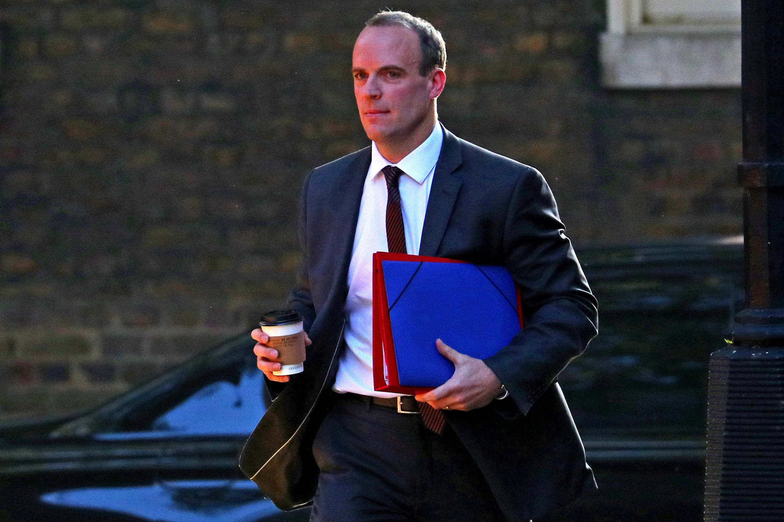 UK will pay 'substantially' less to EU in event of no Brexit deal - Raab