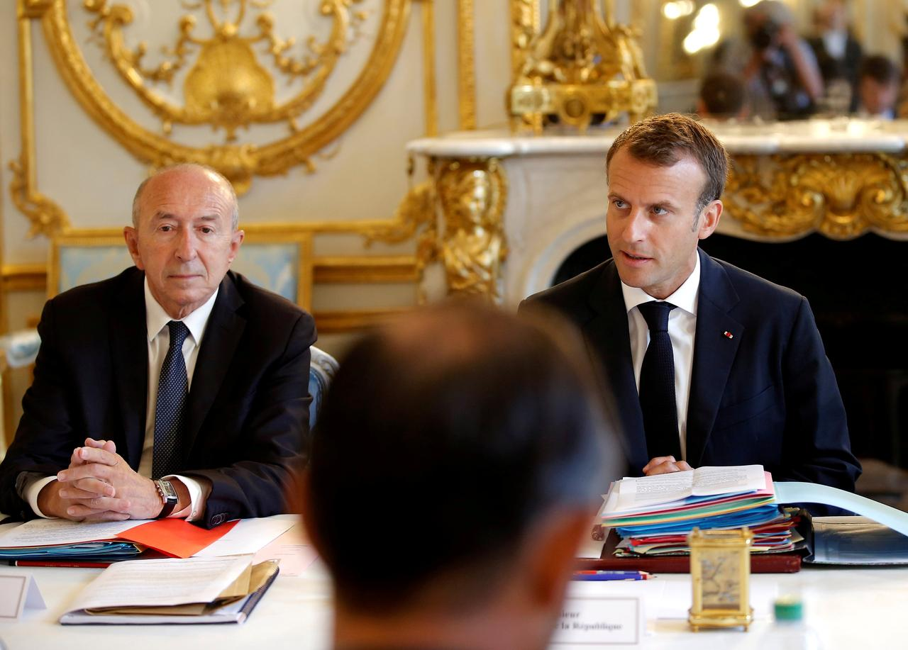 Image result for Macron's government in flux as key ally plans to quit post