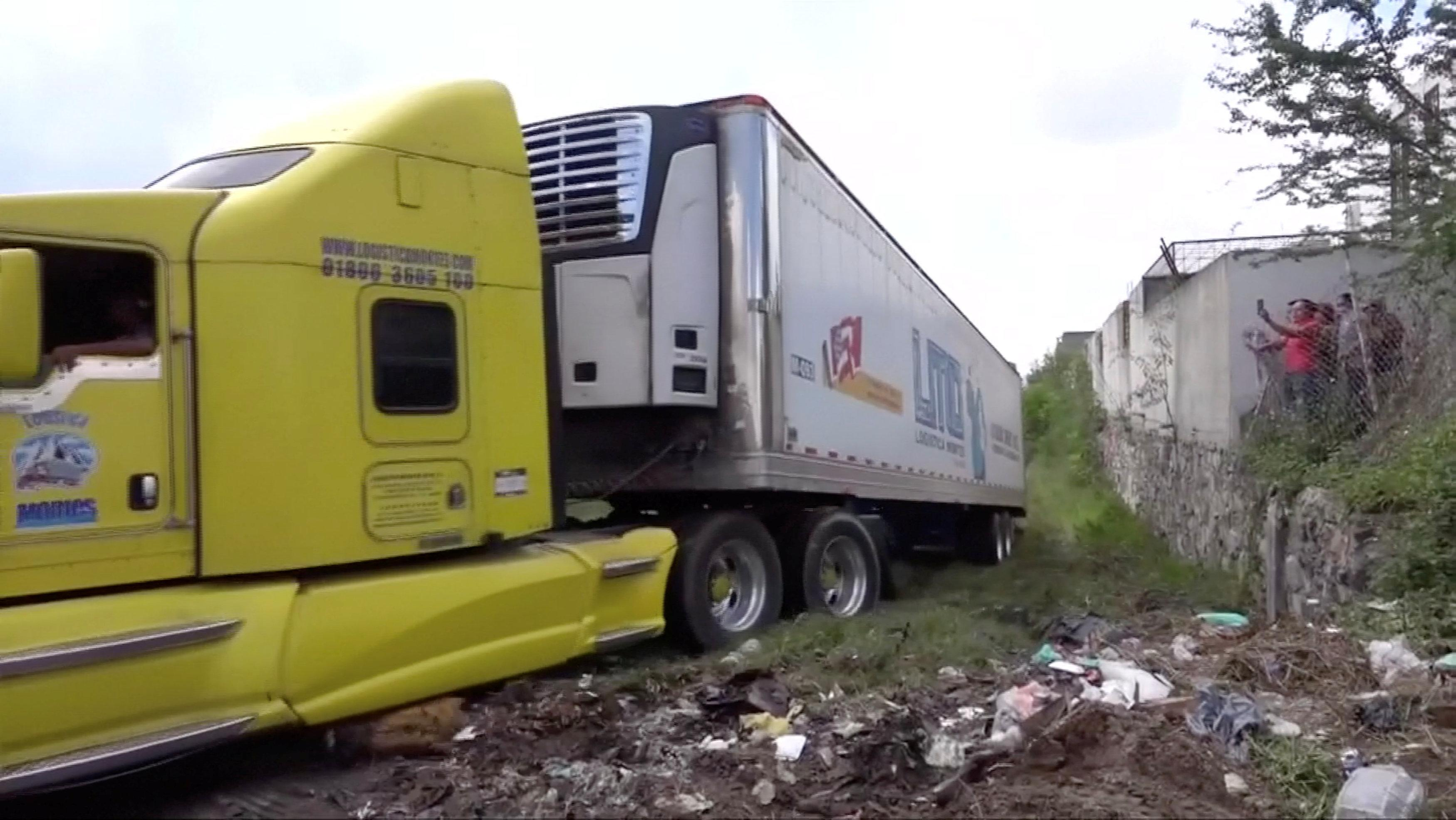 Mexican official fired over bodies stored in truck says he's