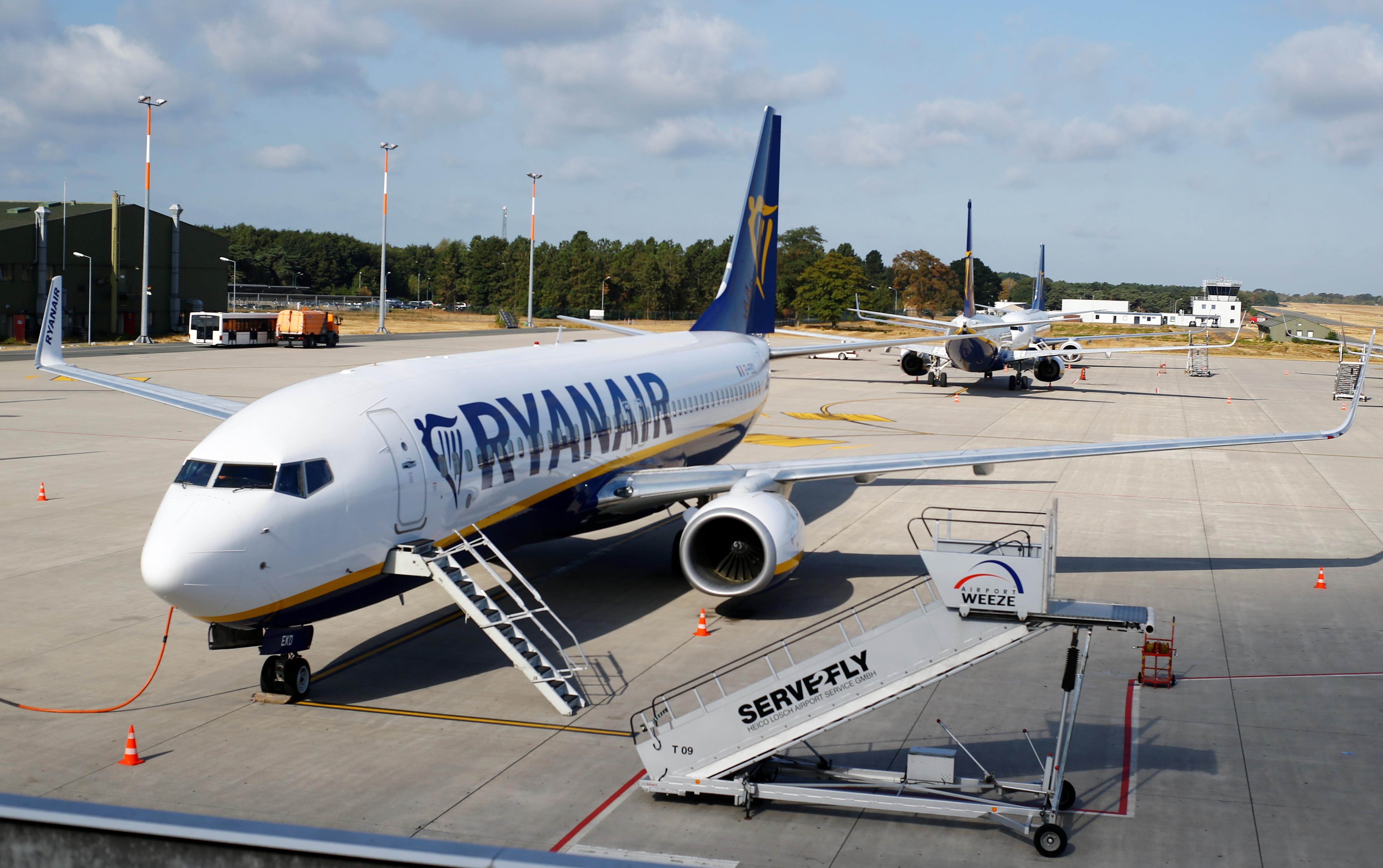 German union Verdi calls on Ryanair cabin crew to strike on Friday