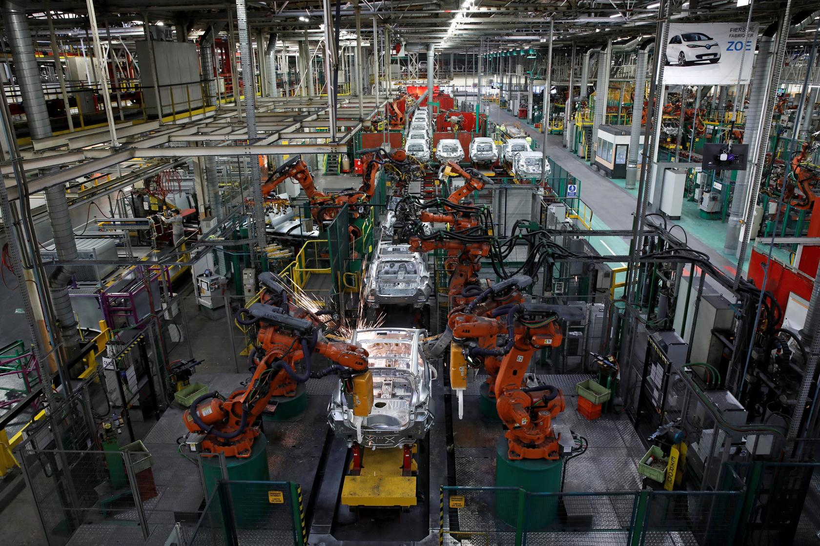 French factory growth slowest in three months in September