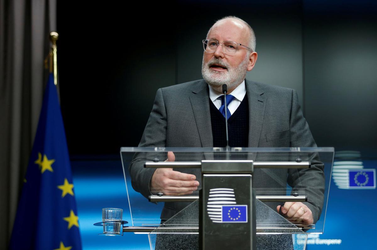 Juncker's Dutch Deputy Bids To Succeed Him As EU Chief