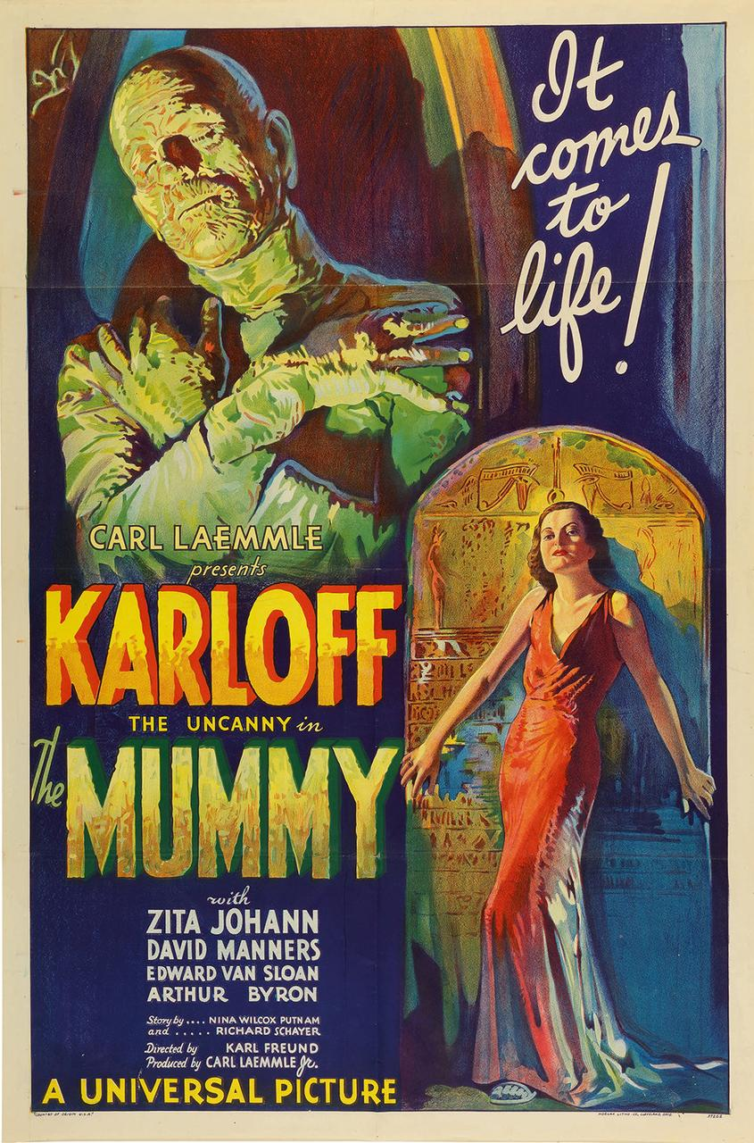Rare 1932 'The Mummy' film poster poised to hit record $1