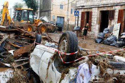 Deadly flash floods hit Mallorca