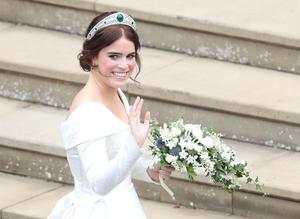 Princess Eugenie's wedding dress