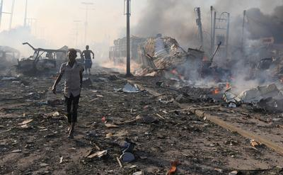 One year after Somalia's deadliest attack