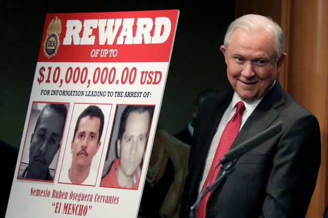 U S  offers $10 million for information leading to Mexican