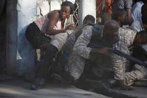 Violent protests in Haiti