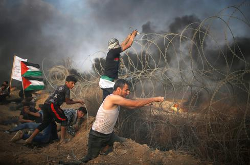 Renewed clashes on Israel-Gaza border