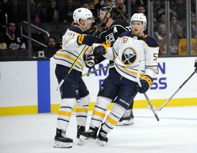 low priced 4fb80 9c712 NHL roundup: Skinner's hat trick leads Sabres in rout - Reuters