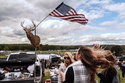 Tailgating at a New Jersey horse race