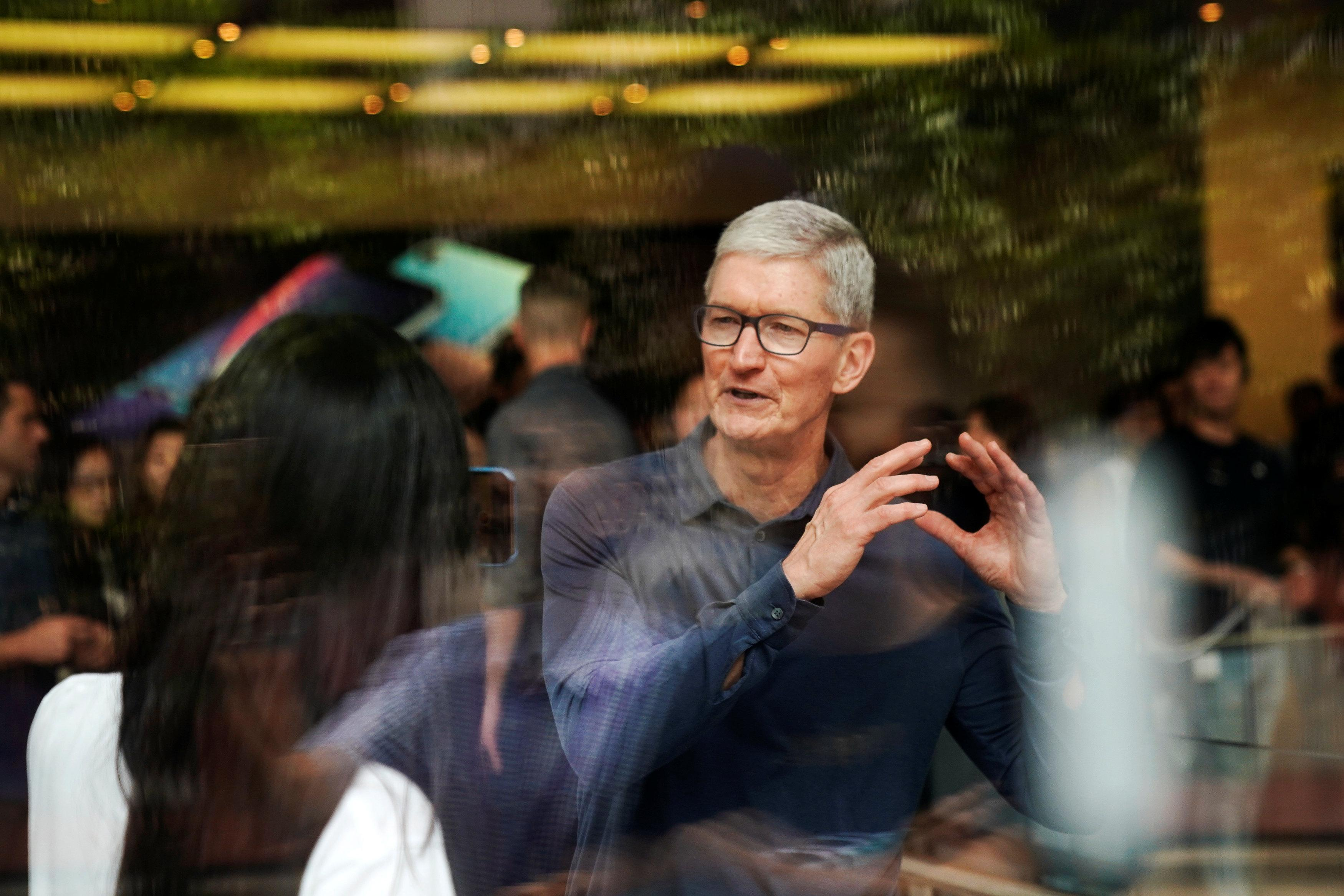 Apple's Cook backs strong privacy laws in Europe, U.S. - remarks