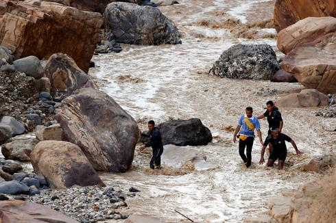 School bus swept away in Dead Sea flash flood