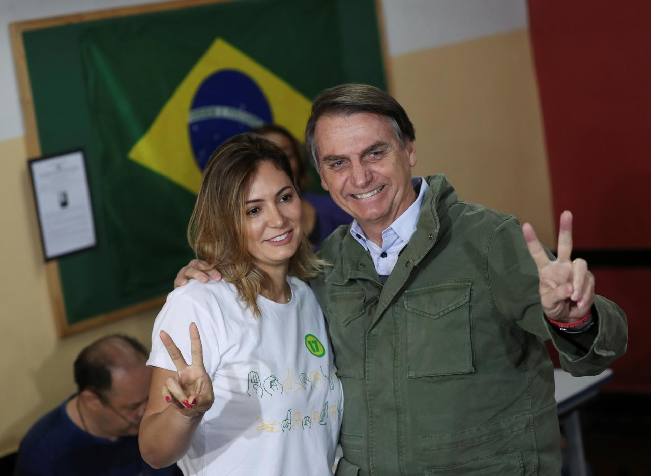 Image result for Far-right Bolsonaro wins Brazil presidential race by Reuters