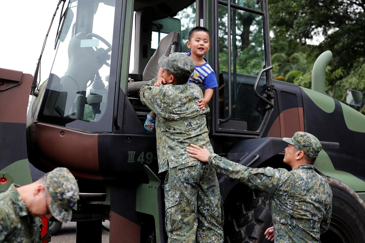 For Taiwan youth, military service is a hard sell despite
