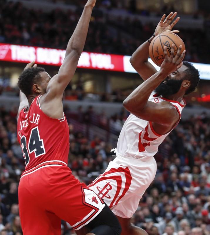 NBA Roundup: Harden Leads Rockets To Win In Return