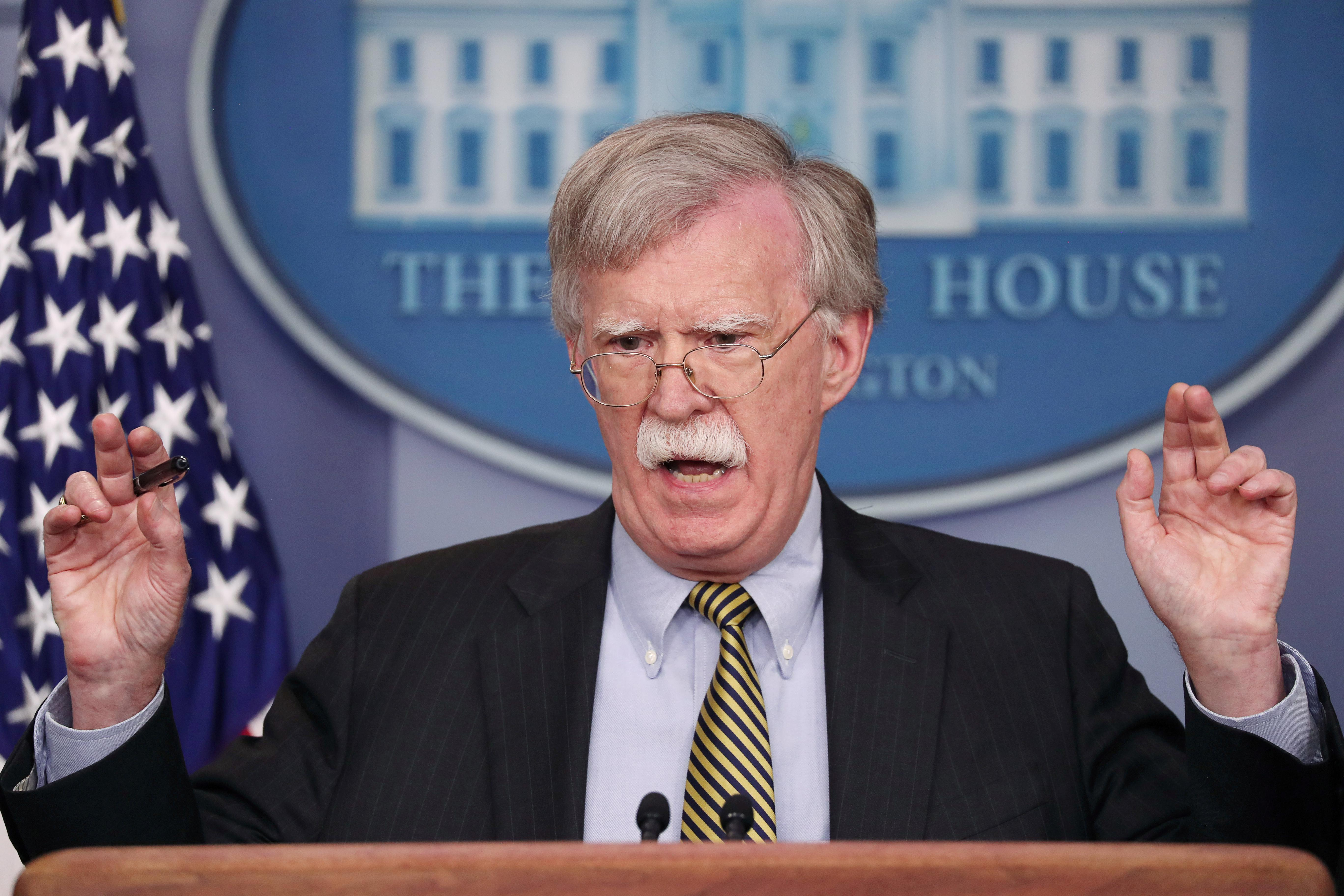 U.S.'s Bolton says more sanctions on Iran coming: FBN interview