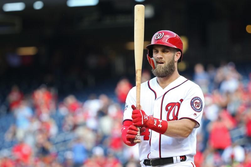 MLB notebook  Harper rejected Nationals  offer  bbc11f973