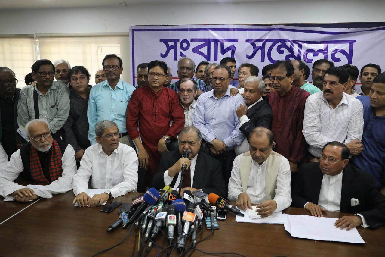 Bangladesh opposition parties including BNP to contest election