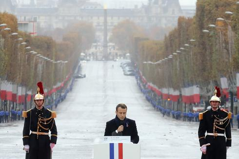 World leaders mark WW1 centenary