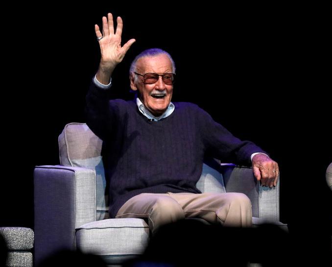 reuters.com - Reuters Editorial - Screen superheroes lead tributes to Stan Lee