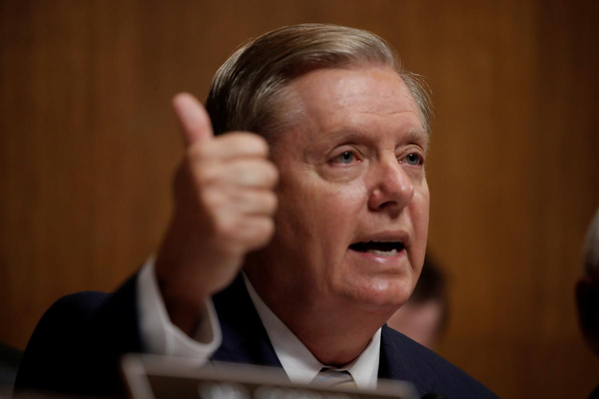 U.S. Senator Graham says supports Mueller bill, urges vote