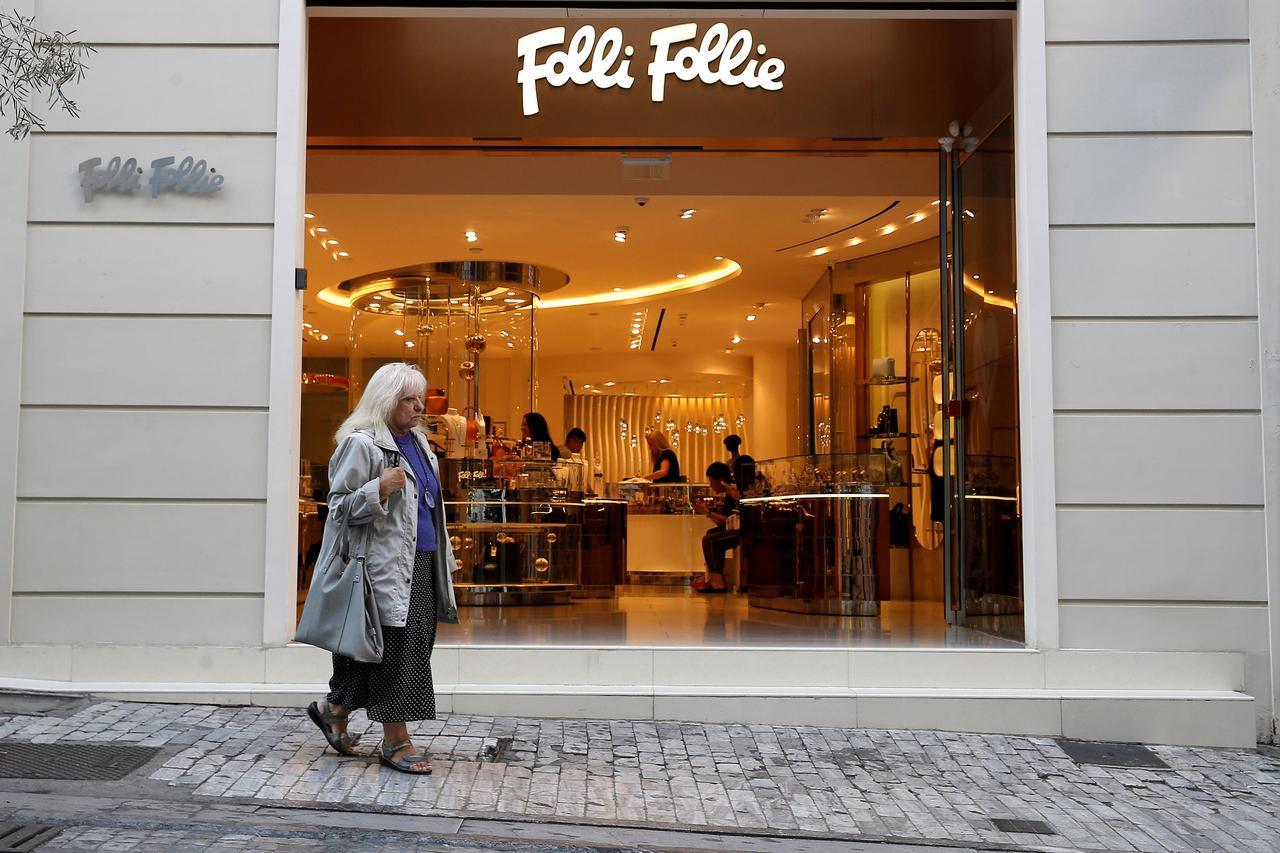 Troubled Greek jeweler Folli Follie seeks protection from