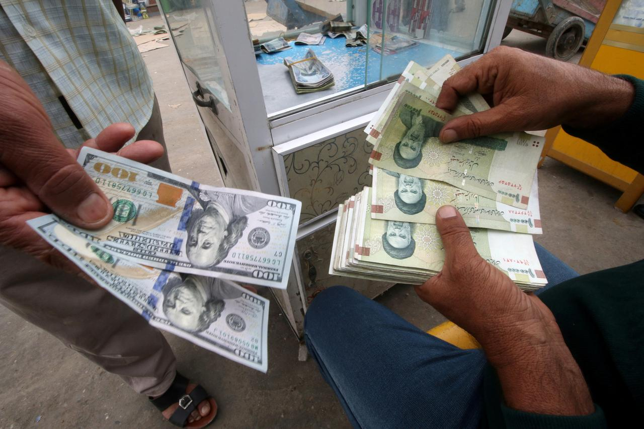 File Photo Iranian Rials U S Dollars And Iraqi Dinars At A Currency Exchange In Basra Iraq November 3 2018 Reuters Essam Al Sudani