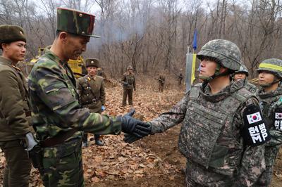 North and South Korea reduce DMZ military activity