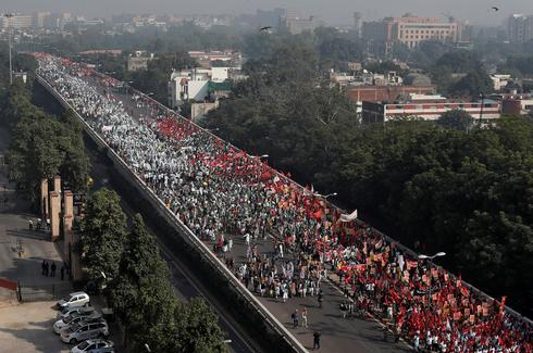 India farmers march