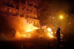 Worst riots in Paris since 1968