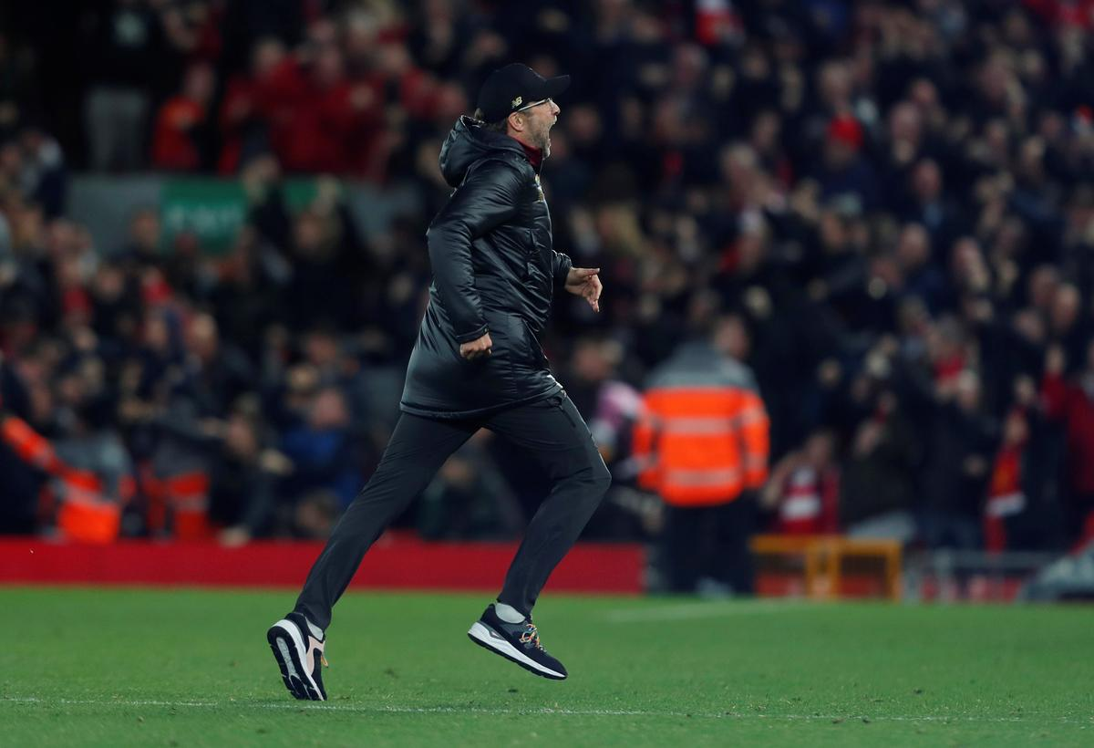 Soccer: Klopp apologises for wild celebrations after last ...