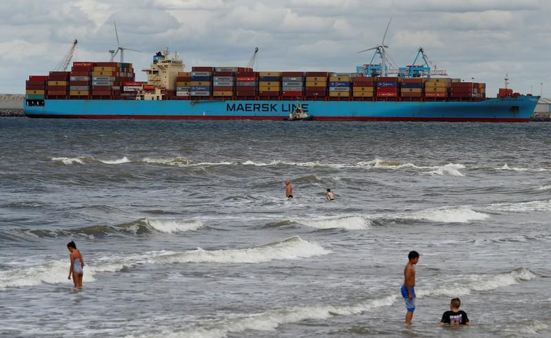 World's largest container shipper Maersk aims to be CO2 neutral by...