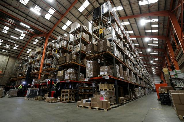 Hoarding for Brexit sparks race for warehouse space in