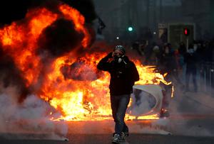 France's 'yellow vests' face off with police