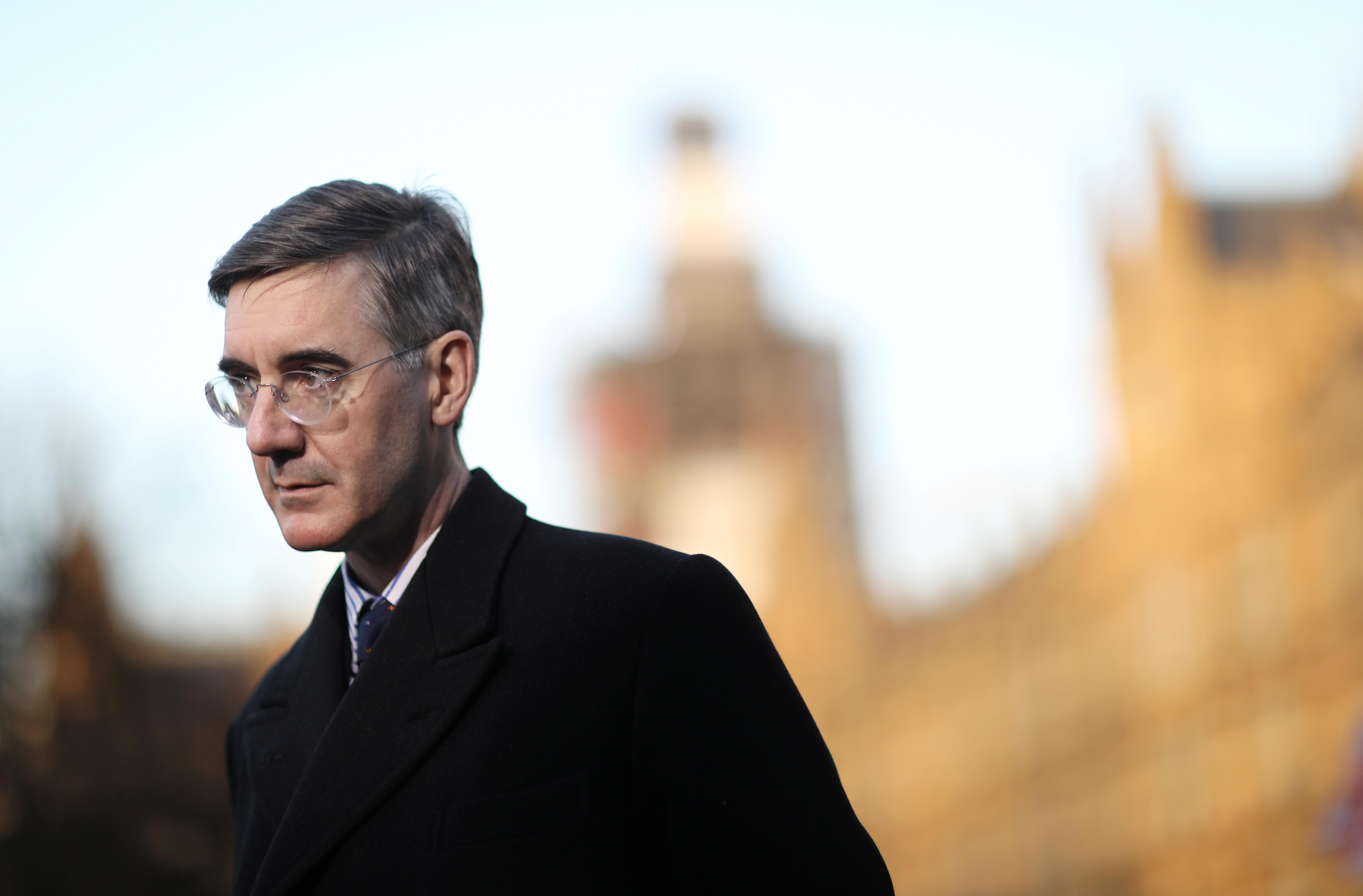 Influential Brexiteer Jacob Rees-Mogg rules out a leadership bid