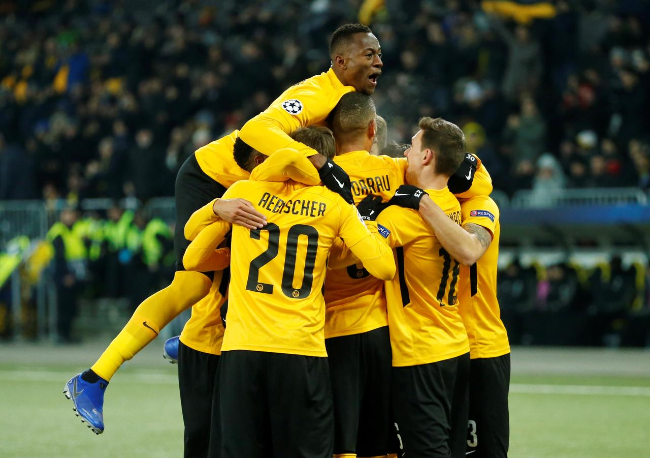 Image result for Young Boys stun former champions Juventus with Hoarau brace