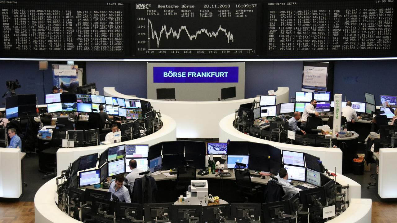 European shares end two days of gains as ECB, Brexit sap