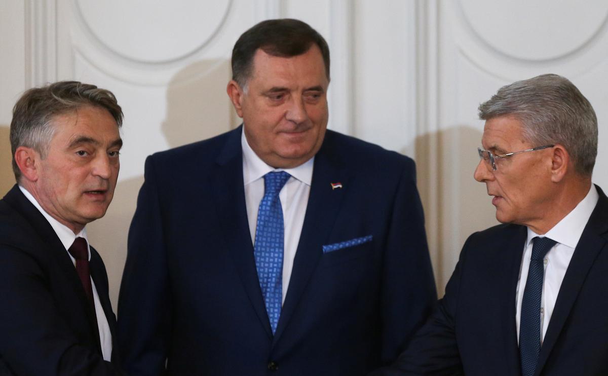U.S. backs NATO membership for Bosnia, dismisses Serb opposition