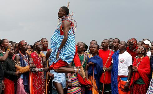The Maasai Olympics